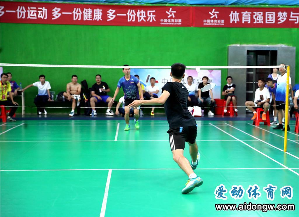 2020年海南省业余羽毛球公开赛24日乐东挥拍