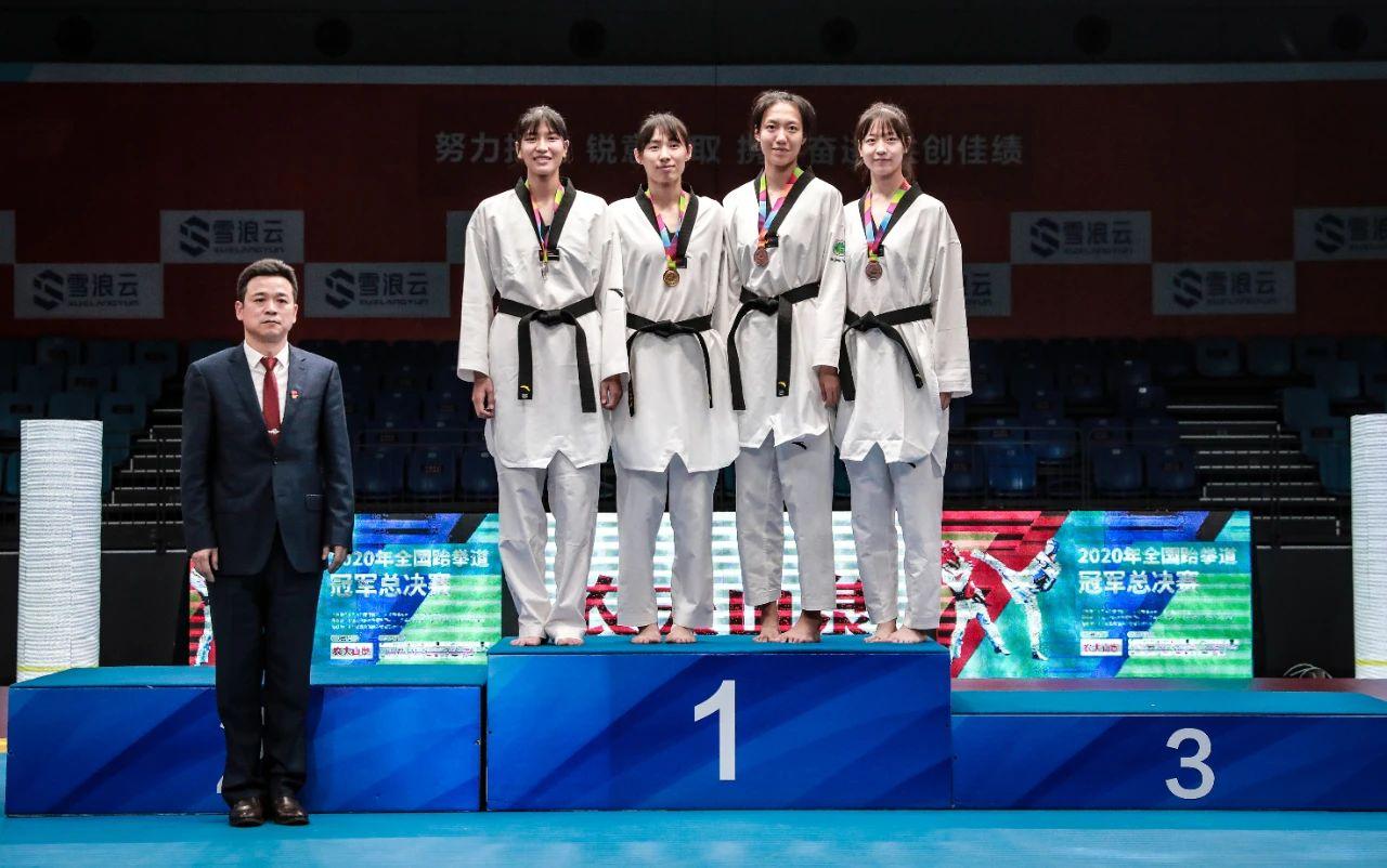 """""""海南队一姐""""高盼登顶!全国跆拳道冠军总决赛落幕"""
