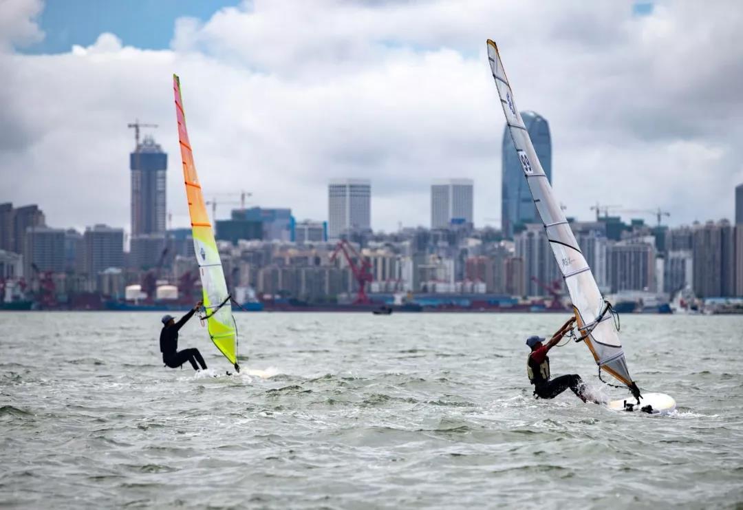 2020年biwei必威体育备用网站省帆船帆板锦标赛11日海口扬帆起航