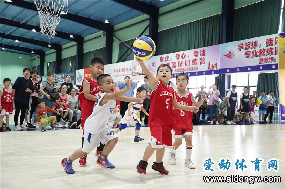 NYBO青少年篮球公开赛海口珠玑体育馆开打
