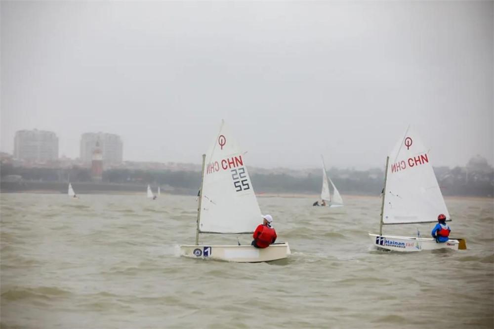 2020年海南省帆船帆板锦标赛OP组别收官