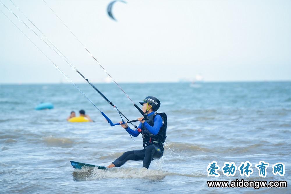2020biwei必威体育备用网站亲水运动季风筝冲浪邀请赛假日海滩收官