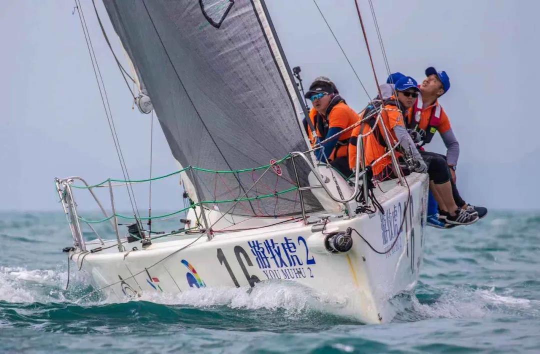 风浪中前进!2020海帆赛长航赛第二日长桥建设队领先