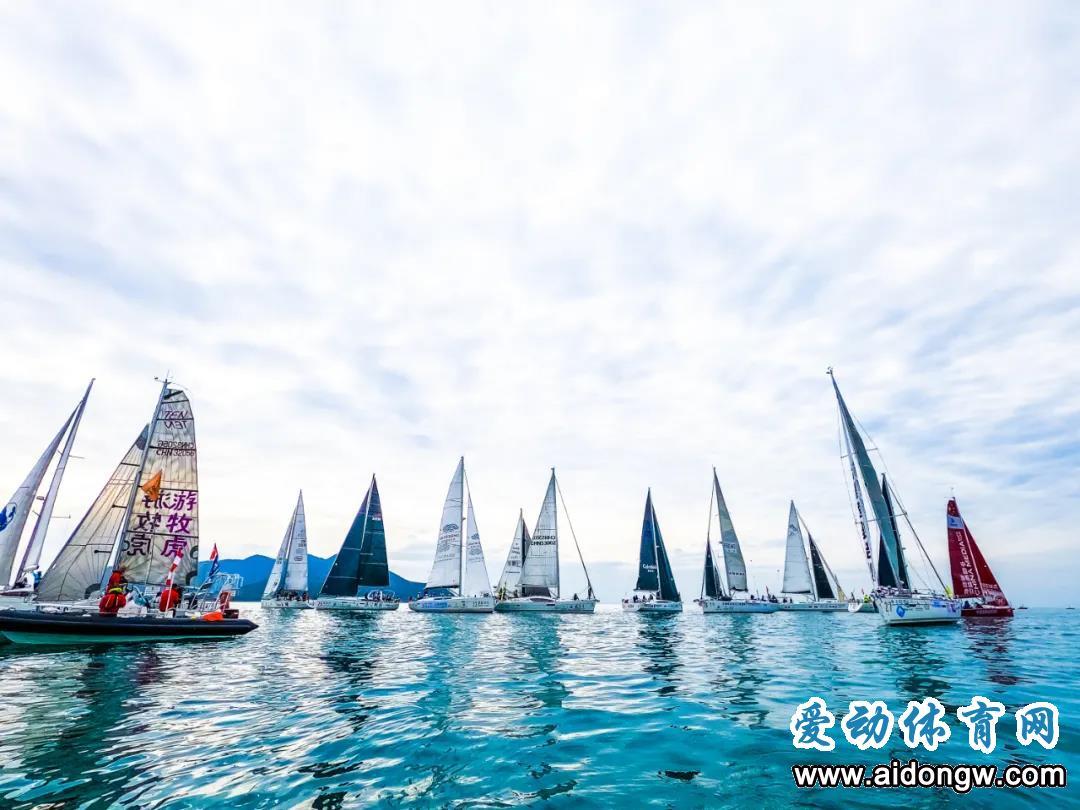 2020海帆赛三亚落幕,深圳中帆航海队夺全环拉力赛总冠军