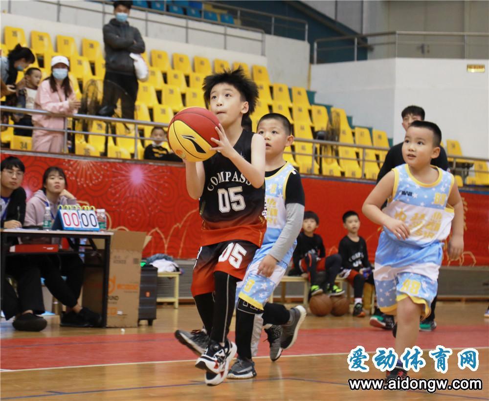 小篮球大梦想!2020海南省小篮球联赛海口赛区开打