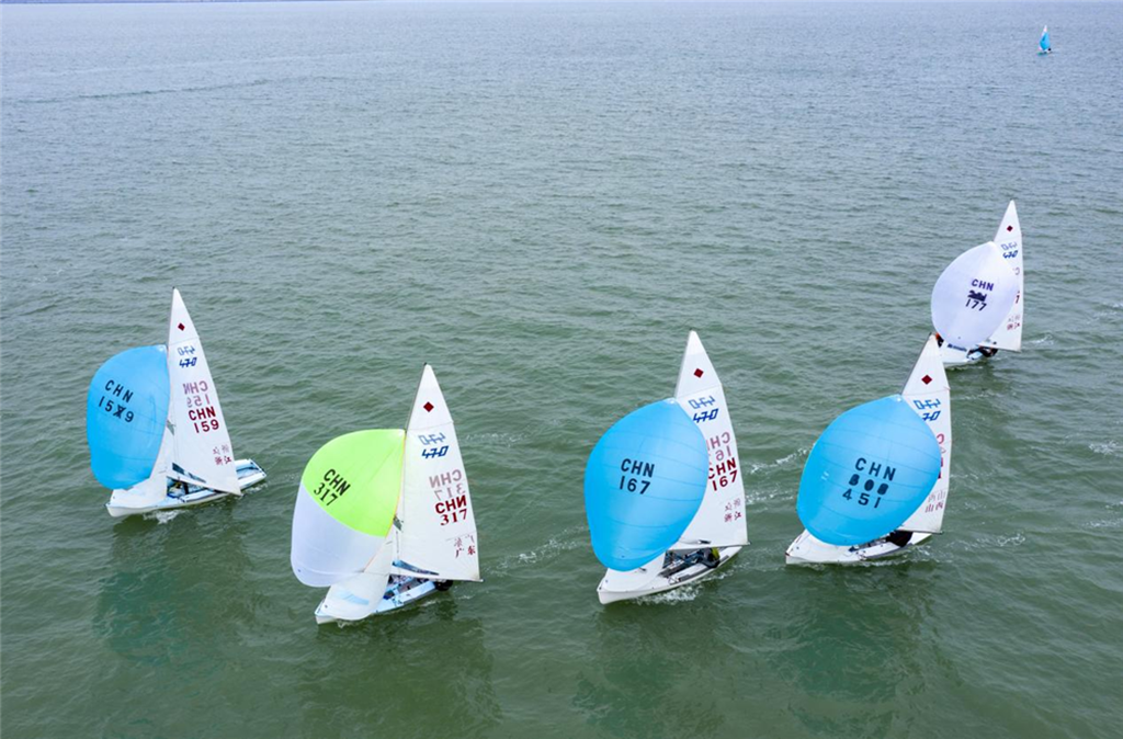 2020年全国帆船冠军赛(470级)海口收官