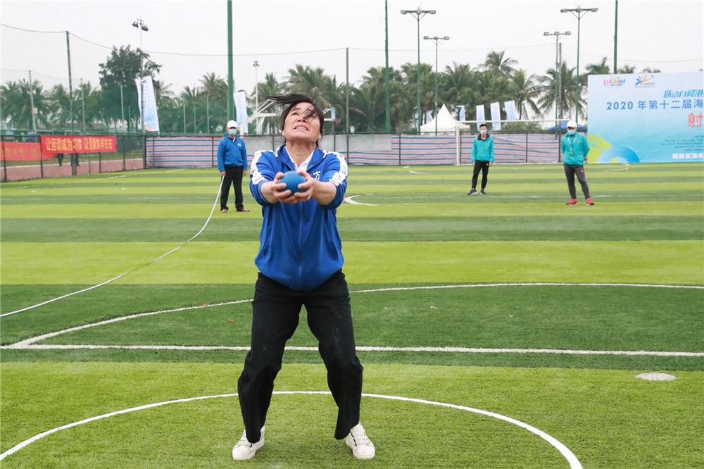 射弩首登全民健身舞台!2020年海南省全民健身运动会海口世纪公园落幕