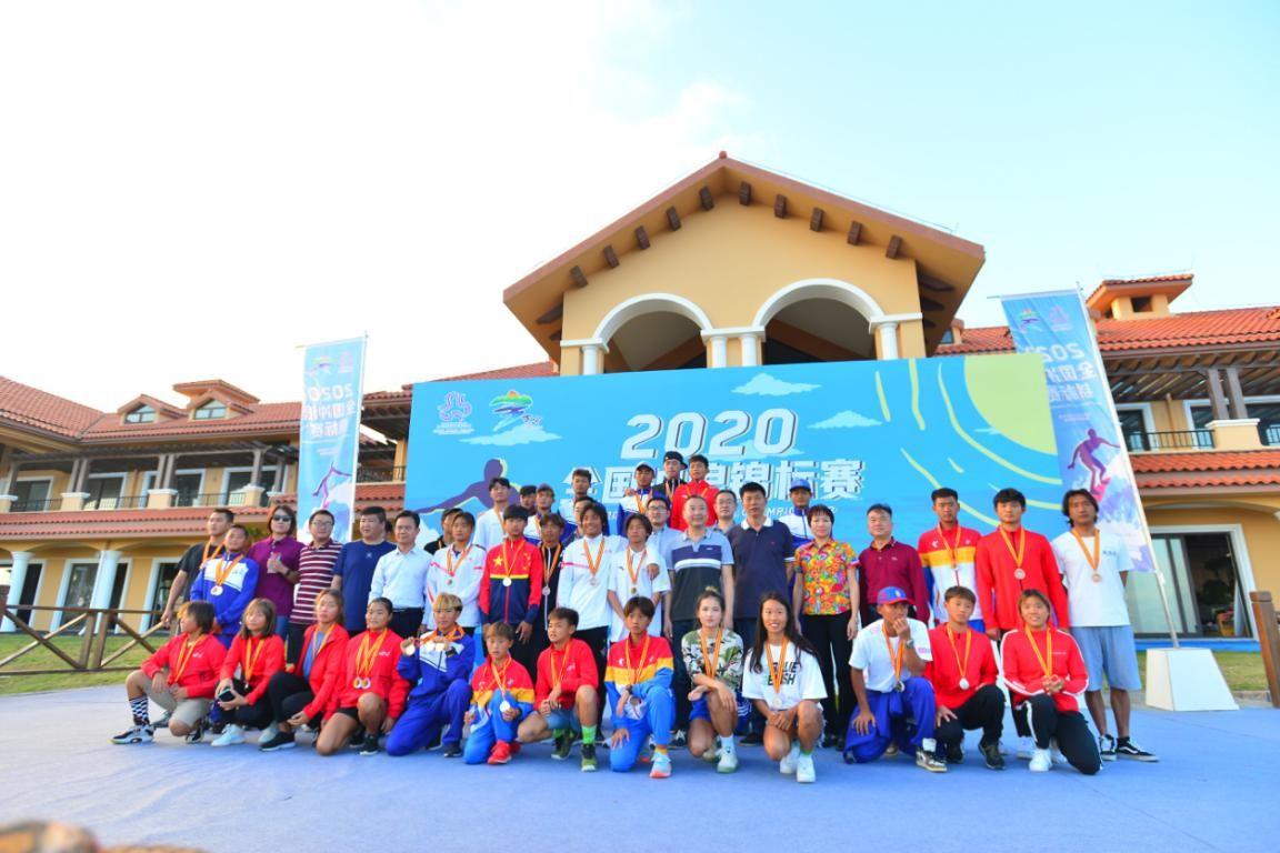 海南代表队狂揽9金!2020全国冲浪锦标赛收官