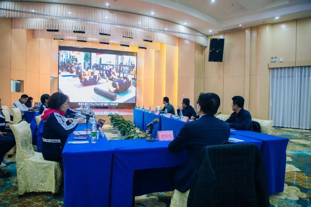 总局副局长李建明来海口调研国家帆船帆板队奥运会备战工作