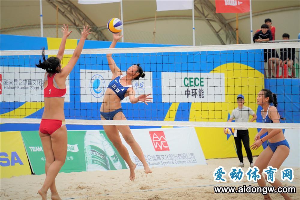 十四运会沙滩排球海口站资格赛4月13日开打