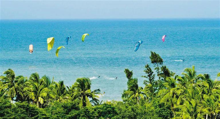 2021年全国风筝板冠军赛24日博鳌开赛