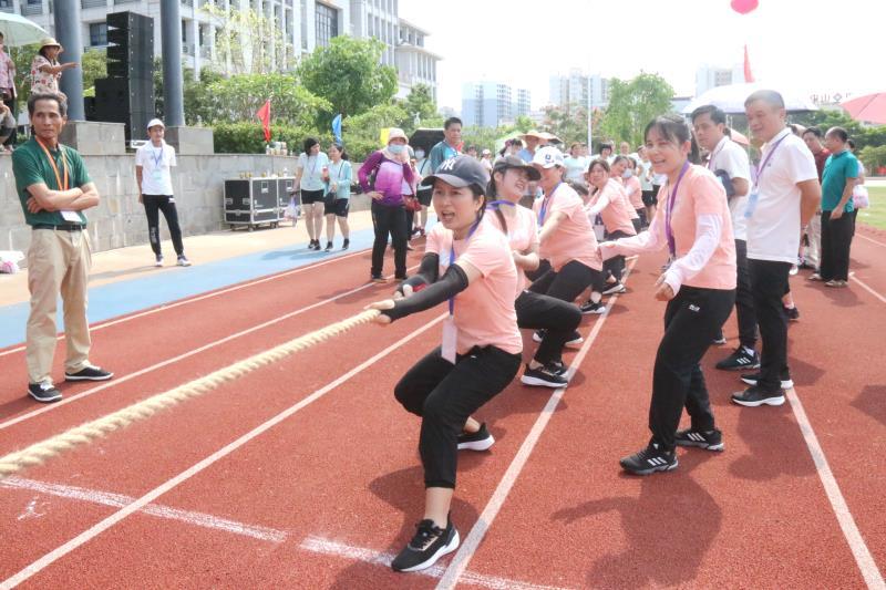 澄迈县第三届职工运动会收官