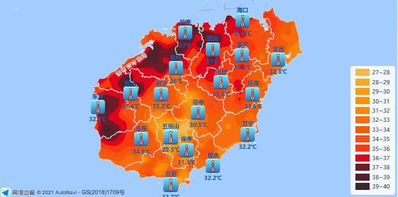 海南发布高温四级预警!户外运动时需注意防暑降温