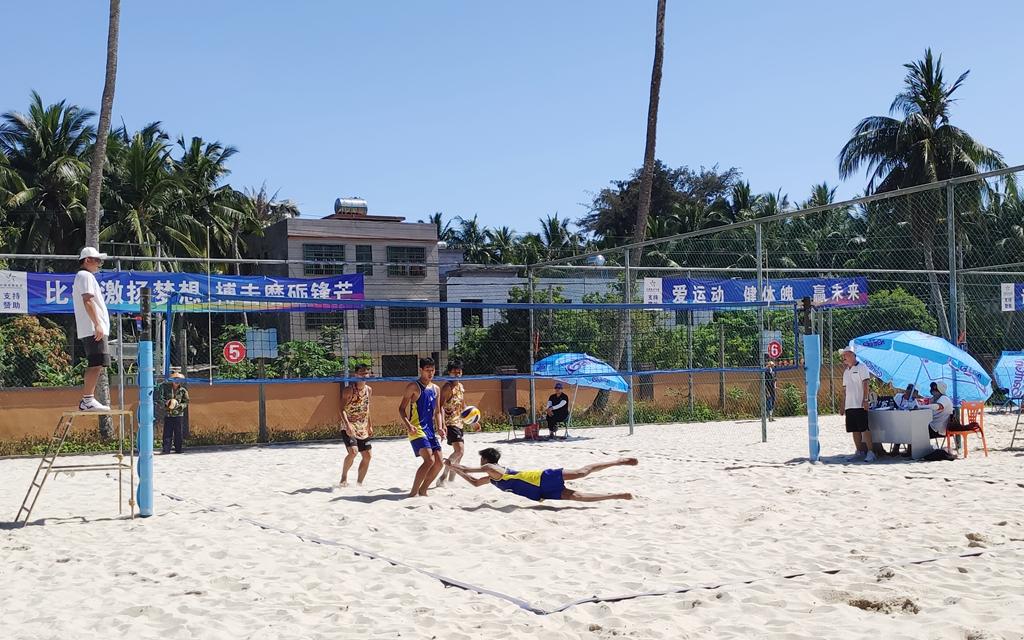 2021年海南省青少年沙滩排球锦标赛收官
