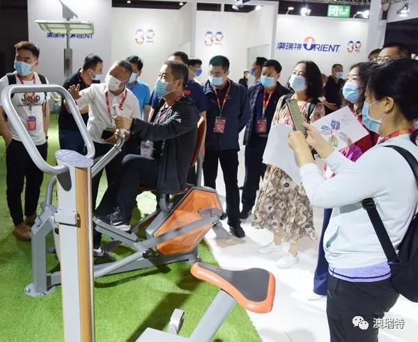 呈现全场景智能健身方案!2021体博会澳瑞特展位精彩不断