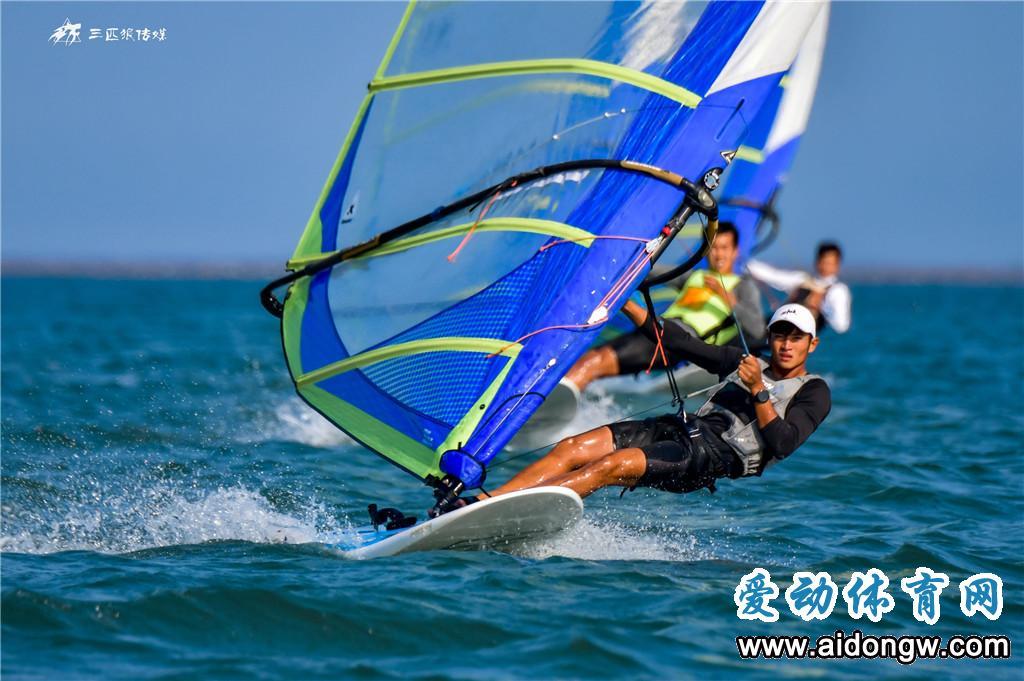 再传捷报!海口队包揽全国帆板冠军赛GAASTRA  PRO级长距离赛前三名