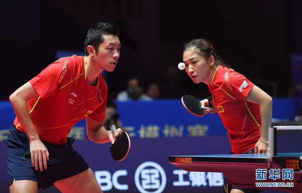 敲定!东京奥运会乒乓球单打、混双参赛名单出炉