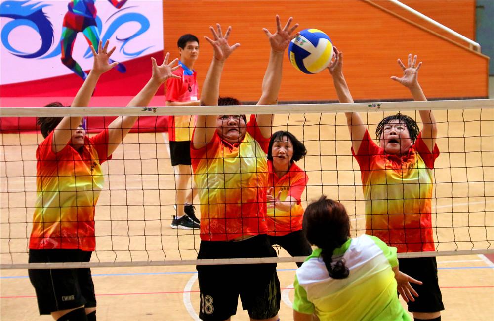 """""""中国体育彩票杯""""2021年海南省气排球公开赛澄迈开打"""