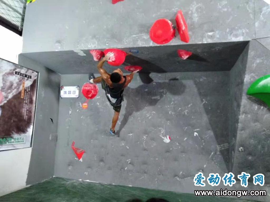 百名攀岩高手争锋,2021年海南省攀岩公开赛收官
