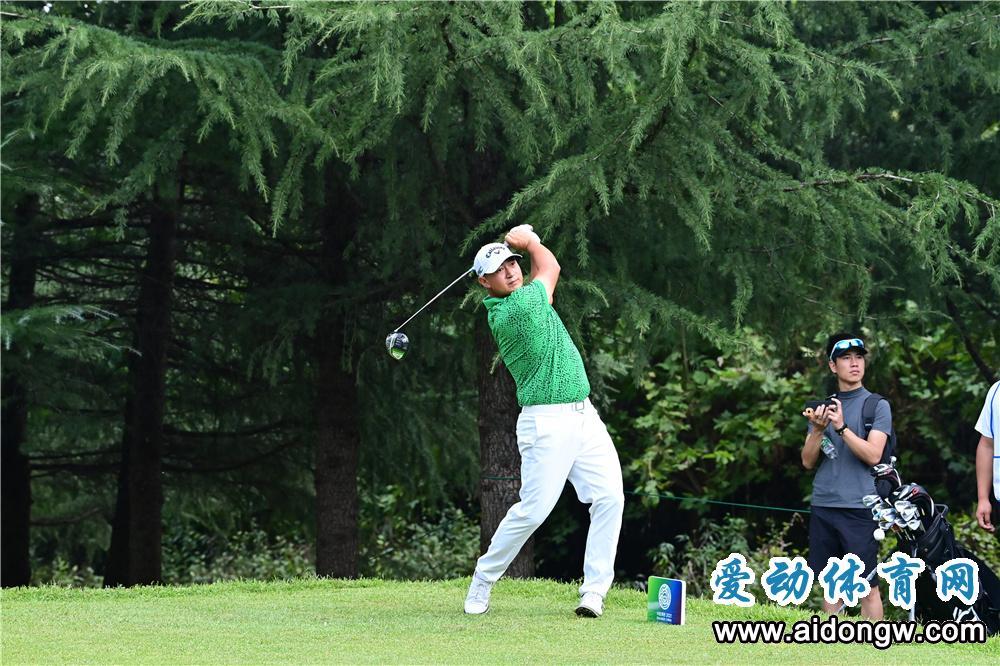 袁也淳并列第一,海南男队暂列第一!明日全运会高尔夫球比赛迎奖牌轮