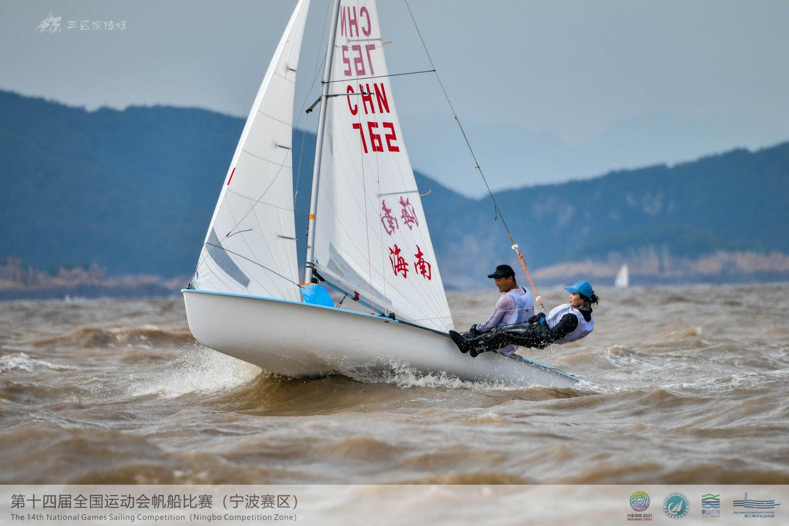 全运会海南再添奖牌!获帆船470级混合团体长距离赛铜牌!