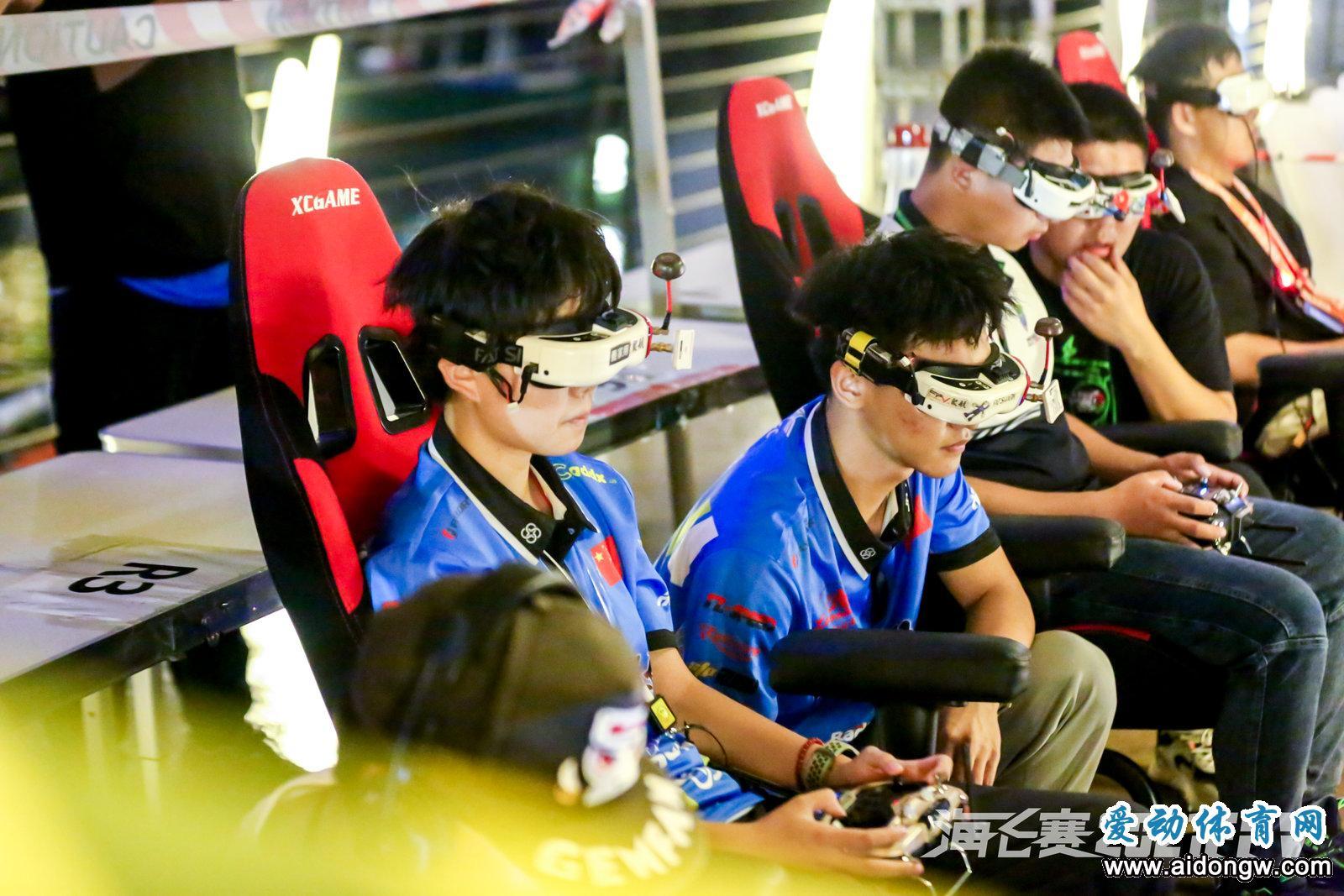 2021年中国无人机竞速公开赛(海南自贸港站)海口开赛