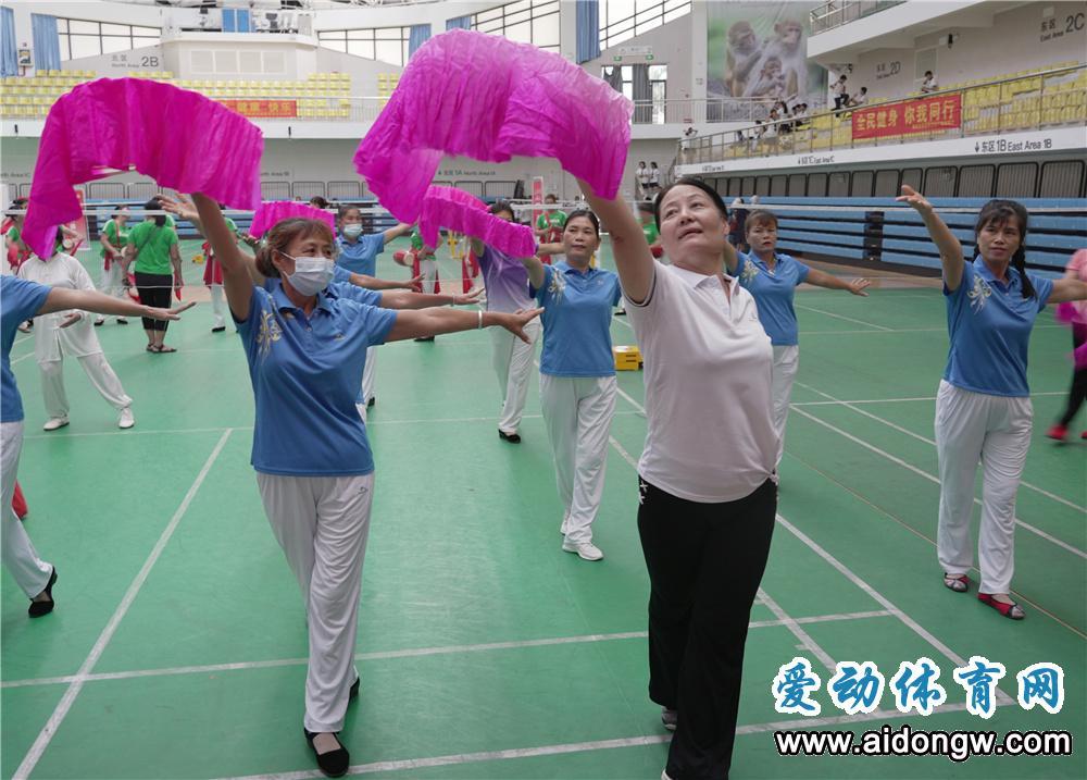 2021年海南省社会体育指导员风采展示活动陵水启动