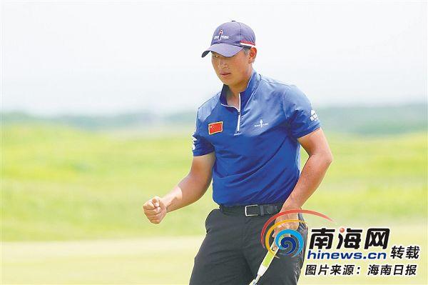 海南球员袁也淳获东京奥运会男子高球参赛资格