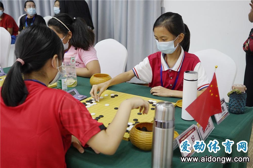 2021年海南省围棋公开赛澄迈落子,近200名棋手参赛