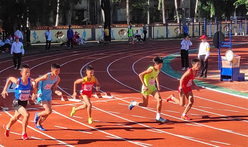 2021年海南省青少年田径(U12-U14)锦标赛儋州开赛