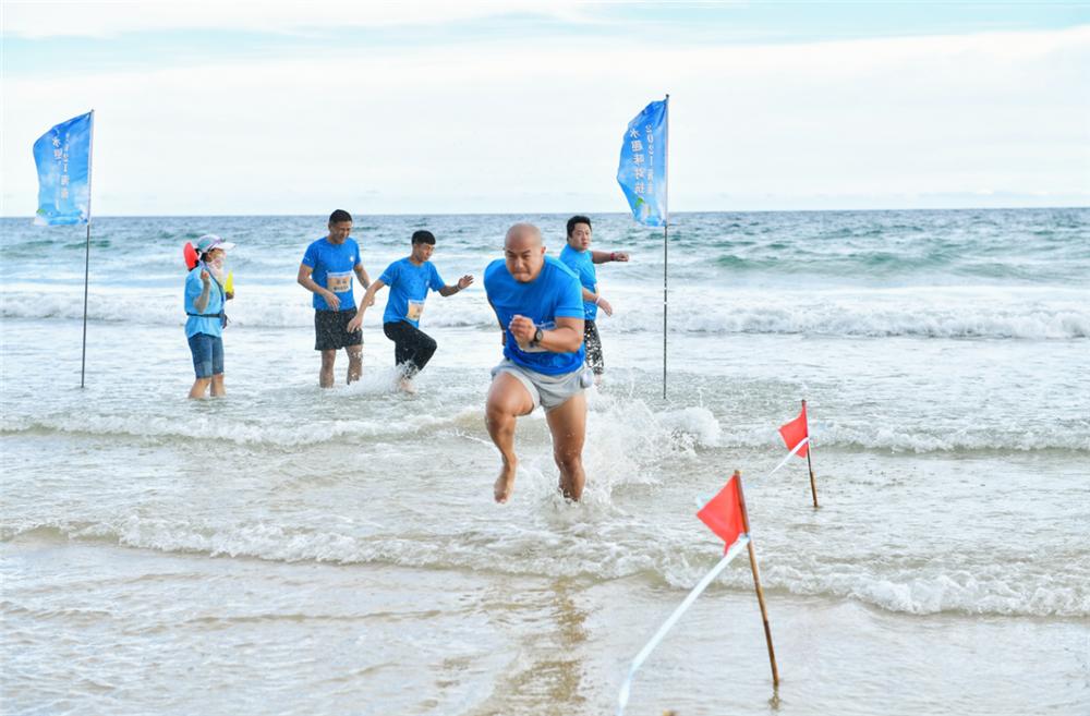 2021年海南亲水运动季—海南亲水趣味对抗赛万宁上演