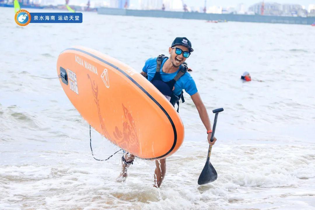 2021年海南亲水运动季—海南SUP桨板公开赛收官