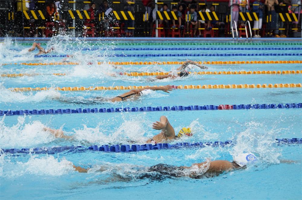 海口双冠封王!2021年海南省少年游泳锦标赛白沙收官