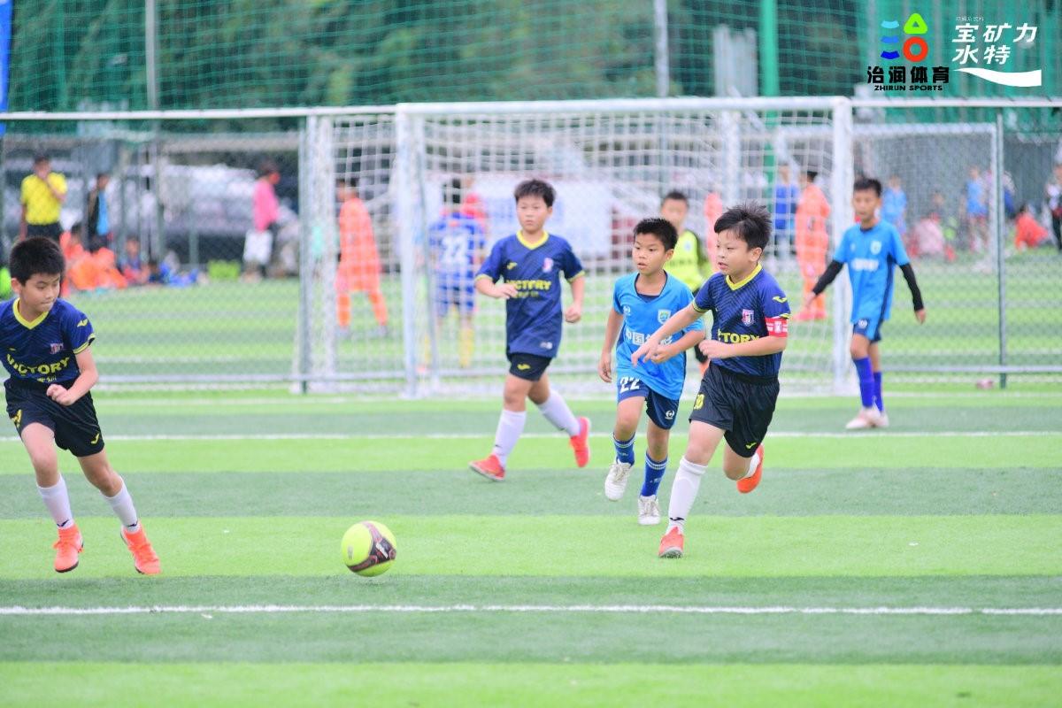 2021年海口市全民健身推广季青少年足球赛收官